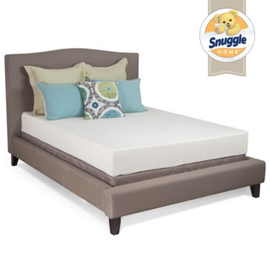 "jcpenney.com | Snuggle Home 8"" Medium Tight-Top Memory Foam Mattress"