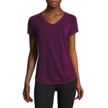 jcpenney.com | Xersion™ Short-Sleeve Mesh Inset T-Shirt