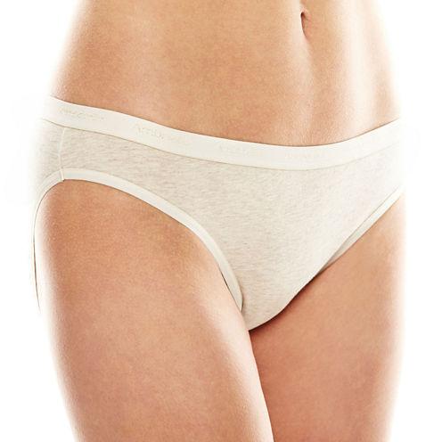 Ambrielle® Natural Comfort Tailored Bikini Panties