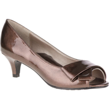 jcpenney.com | Soft Style® by Hush Puppies Aubrey Peep-Toe Pumps