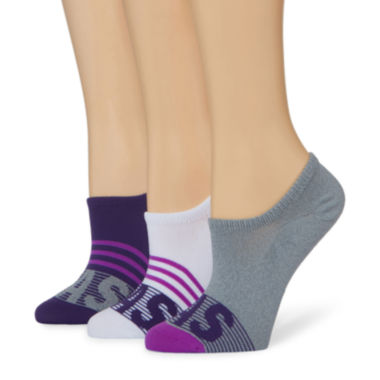 jcpenney.com | adidas® 3-pk. Adi Stripe Super No Show Socks