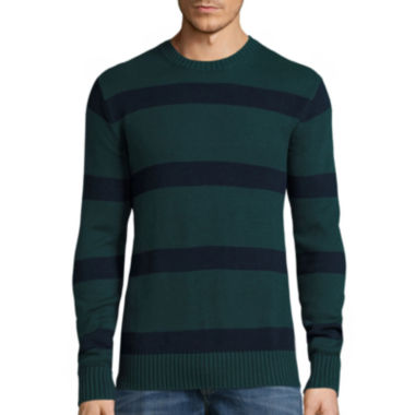 jcpenney.com | St. John's Bay® Long-Sleeve Striped Sweater