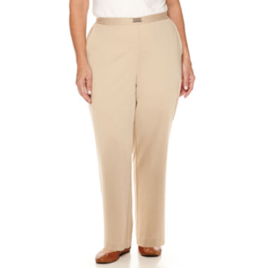 jcpenney.com | Alfred Dunner® Madison Park Pants - Plus