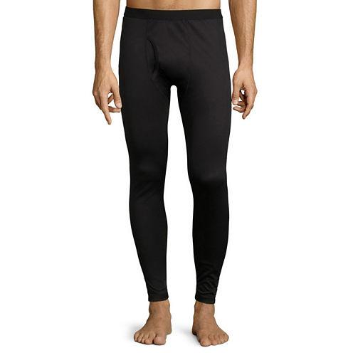 St. John's Bay® Box Mesh Thermal Pants