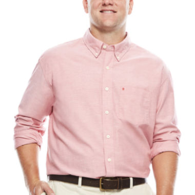 jcpenney.com | IZOD® Newport Long-Sleeve Cotton Oxford Shirt- Big & Tall