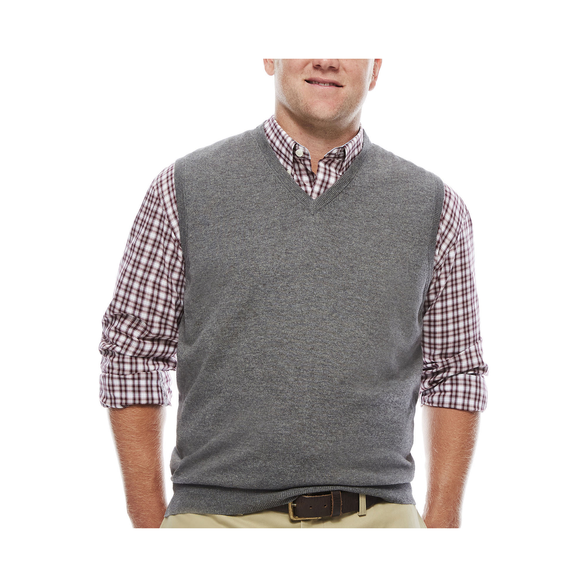UPC 015844919746 - IZOD Fieldhouse V-Neck Sweater Vest - Big ...