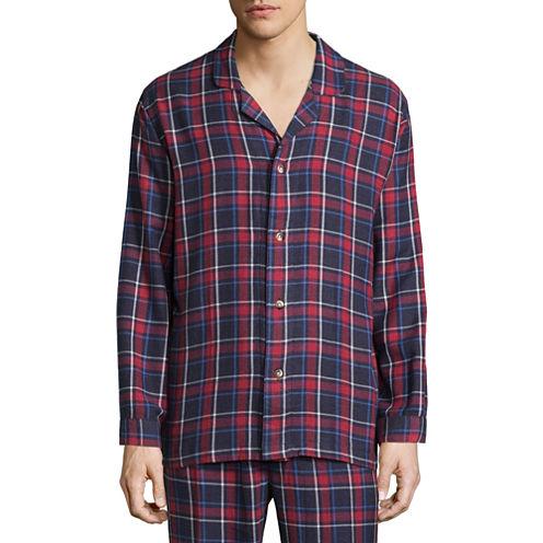 IZOD® Flannel Pajama Top