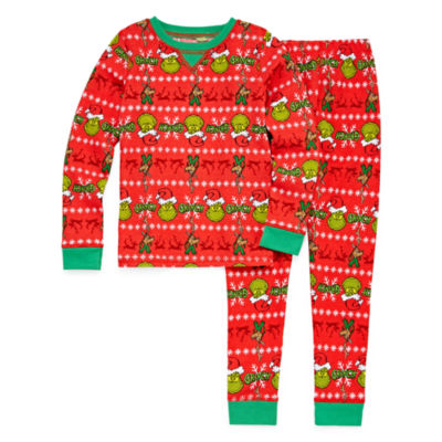 Round Neck Long Sleeve Thermal Set Boys Jcpenney