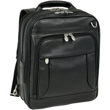 "jcpenney.com | MCKLEIN LINCOLN PARK LEATHER 15.6"" THREE-WAY LAPTOP BACKPACK"