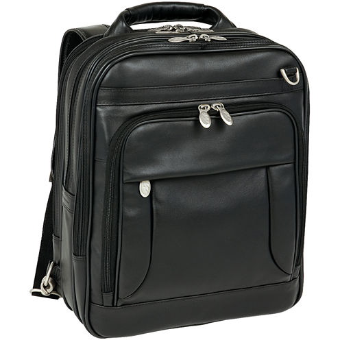 "MCKLEIN LINCOLN PARK LEATHER 15.6"" THREE-WAY LAPTOP BACKPACK"