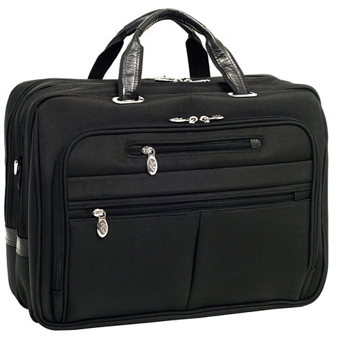 "McKleinUSA Rockford 15.6"" Nylon Fly-Through™ Checkpoint-Friendly Laptop Briefcase"