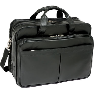 jcpenney.com | McKlein Walton Leather Laptop Case