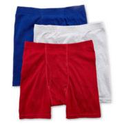 Hanes® Classics 3-pk. Boxer Briefs - Boys 6-20
