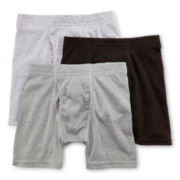 Hanes® Classics 3-pk. Assorted Boxer Briefs - Boys 6-20