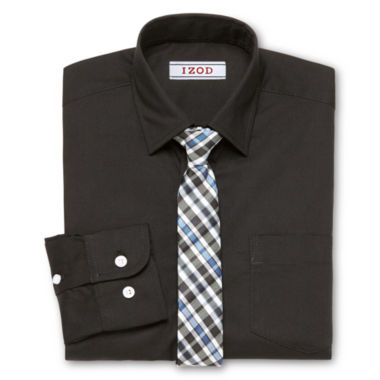 jcpenney.com | IZOD Shirt + Tie Set - Big Kid Boys