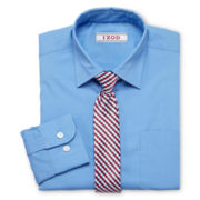 IZOD® Shirt and Clip-On Tie Set - Boys 4-20