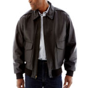 Excelled Leather Flight Jacket
