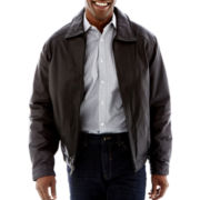 Excell Lambskin Leather Bomber Jacket