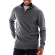 TailorByrd Quarter-Zip Sweater-Big & Tall