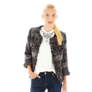 Joe Fresh™ Fringe Tweed Jacket