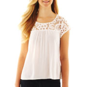 Arizona Lace-Yoke Top