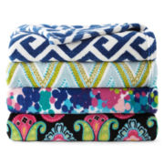 Scene Weaver™ Fleece Print Throw