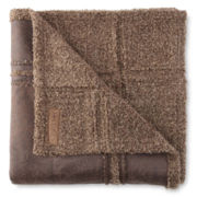 Scene Weaver™ Teton Faux-Leather Throw