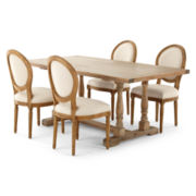 Trestle 5-pc. Dining Set