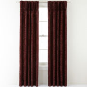 Royal Velvet® Colebrook Pinch-Pleat Curtain Panel