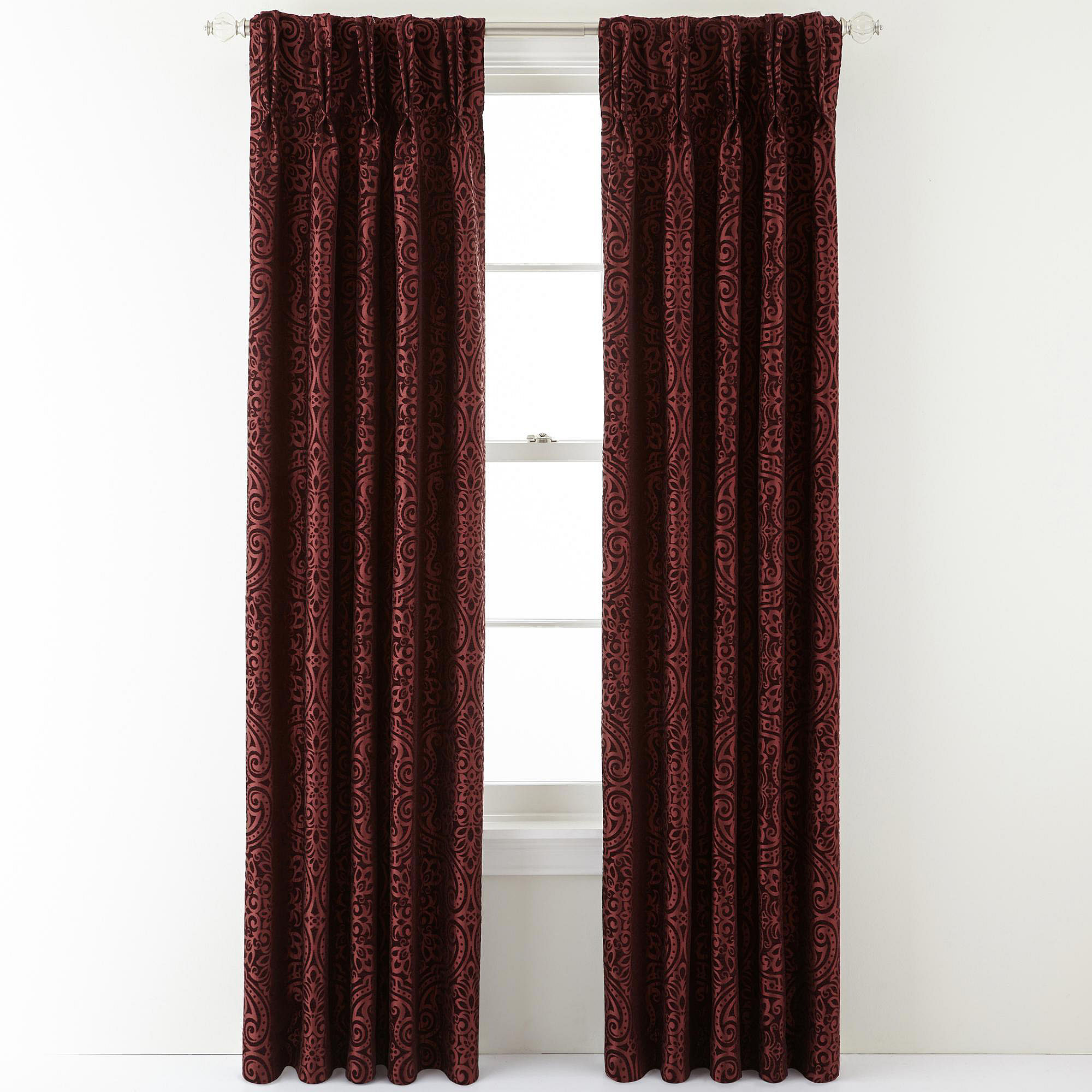 royal velvet colebrook pinch pleat curtain panel