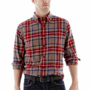 St. John's Bay® Flannel Shirt