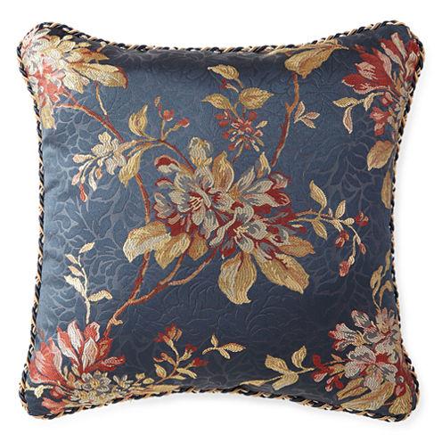 """Croscill Classics® Calice 18"""" Square Decorative Pillow"""