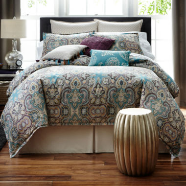 jcpenney.com | JCPenney Home™ Casbah 4-pc. Comforter Set & Accessories