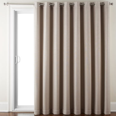 jcpenney.com | JCPenney Home Quinn Basketweave Grommet-Top Patio Panel