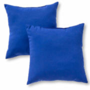 """17"""" Outdoor Accent Pillow Set Of 2"""