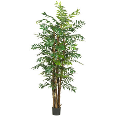 jcpenney.com | Nearly Natural 7' Bamboo Palm Silk Tree
