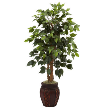 "jcpenney.com | 44"" Ficus Tree With Decorative Planter"