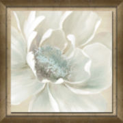 Winter Blooms I Framed Canvas Art