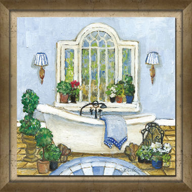jcpenney.com | Blue Bath I Framed Art