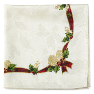 jcpenney.com | North Pole Trading Co Royal Holiday 4-pc. Napkins