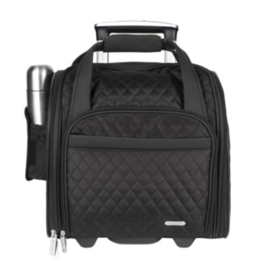 jcpenney.com | Travelon® Wheeled Underseat Carry-On with Back-Up Bag