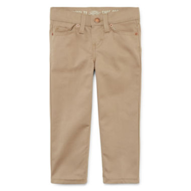 jcpenney.com | Dickies® Slim-Fit Twill Pants with Stretch - Toddler Boys 2t-4t