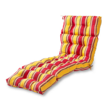 "jcpenney.com | 72"" Outdoor Chaise Lounger Cushion"