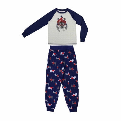 #FAMJAMS Woodland Creatures Family Pajama Set- Big Kid