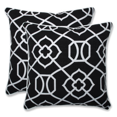 Jcpenney Outdoor Throw Pillows : Pillow Perfect Kirkland Square Outdoor Pillow - Set of 2 - JCPenney