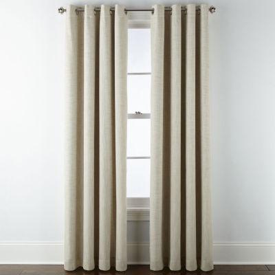 Blackout Grommet Top Single Curtain, Sparkle Curtain Panels