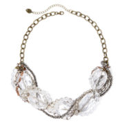 Messages from the Heart® by Sandra Magsamen® Tri-Tone Statement Necklace