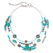 Aris by Treska Aqua Illusion Necklace