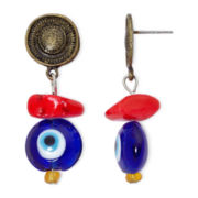 Aris by Treska Eclectic Drop Earrings