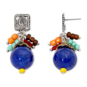 Aris by Treska Bead Drop Earrings